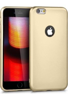 RedClick Apple iPhone 6S / 6 Ultra Slim Yumuşak Premier Silikon Kılıf - Gold