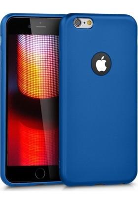RedClick Apple iPhone 6S / 6 Ultra Slim Yumuşak Premier Silikon Kılıf - Lacivert