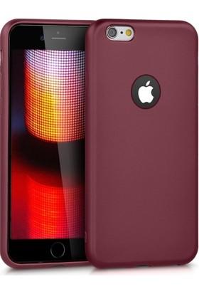 RedClick Apple iPhone 6S / 6 Ultra Slim Yumuşak Premier Silikon Kılıf - Mürdüm