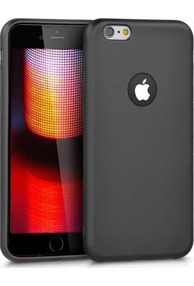 RedClick Apple iPhone 6S / 6 Ultra Slim Yumuşak Premier Silikon Kılıf - Siyah