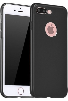 RedClick Apple iPhone 8 Plus Ultra Slim Yumuşak Premier Silikon Kılıf - Siyah