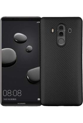 RedClick Huawei Mate 10 Pro Kılıf i-Karbon Silikon Siyah