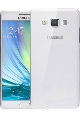 RedClick Samsung Galaxy A5 Kılıf Ultra Slim Kaliteli Silikon Şeffaf 0.2mm - Şeffaf