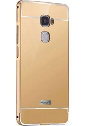 Aksesuarkolic Huawei Mate S Kılıf Arkası Aynalı Bumper
