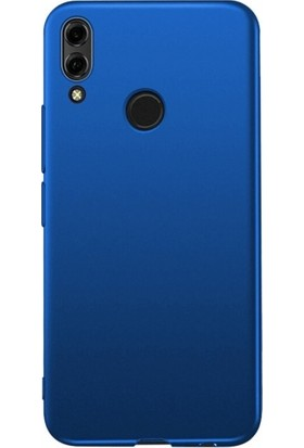 RedClick Huawei Honor 8x Kılıf Ultra Slim Yumuşak Premier Silikon - Lacivert