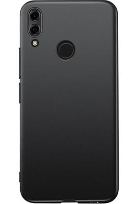 RedClick Huawei Honor 8x Kılıf Ultra Slim Yumuşak Premier Silikon - Siyah