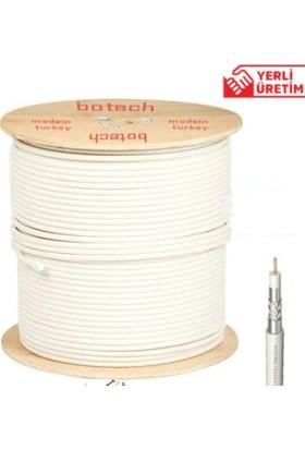Botech Rg6/U 4K Çanak Anten 30 Metre Kablo