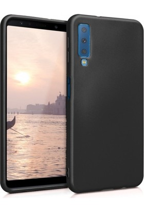 RedClick Samsung Galaxy A7 2018 Kılıf Ultra Slim Yumuşak Premier Silikon - Siyah