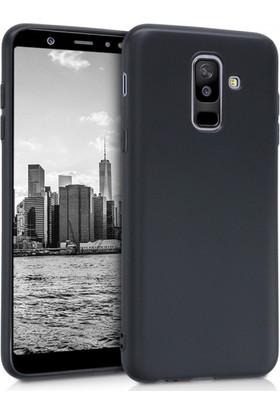 RedClick Samsung Galaxy J8 Kılıf Ultra Slim Yumuşak Premier Silikon - Siyah