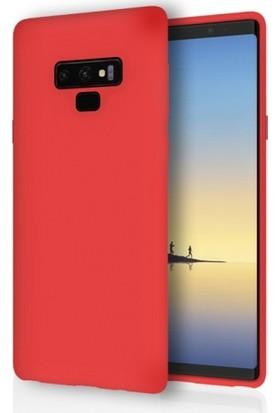 RedClick Samsung Galaxy Note 9 Kılıf Ultra Slim Yumuşak Premier Silikon - Kırmızı