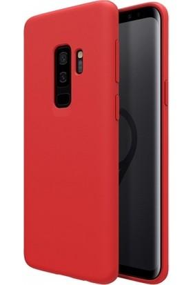 RedClick Samsung Galaxy S9 Plus Ultra Slim Yumuşak Premier Silikon Kılıf - Kırmızı