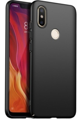 RedClick Xiaomi Redmi S2 Kılıf Rubber Sert Kapak Siyah
