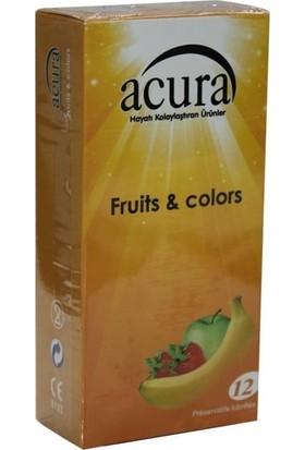 Acura Ac 9003 Fruits & Colors 12'li Prezervatif