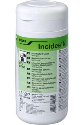 Ecolab Incides N Alkol Bazlı Dezenfektan Mendil 90'lı