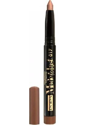 Pupa Made To Last Waterproof Eyeshadow 017 Golden Taupe