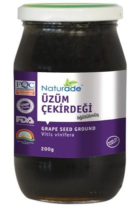 Naturade Öğütülmüş Siyah Üzüm Çekirdeği 200 gr