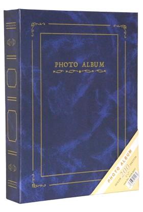 "Acr 200'lük 13 x 18 cm Ciltbezli Fotoğraf Albümü ""Mavi"""