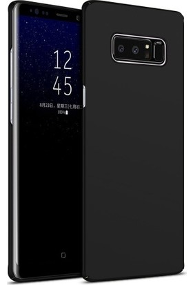 Elite Samsung Galaxy Note 8 Kılıf Rubber Arka Kapak Siyah