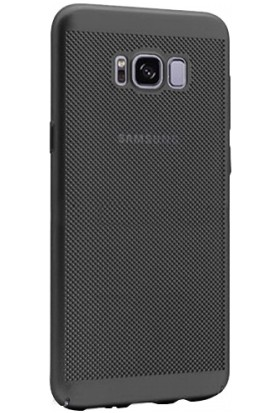Elite Samsung Galaxy S8 Plus Fileli Slim Arka Kapak - Siyah