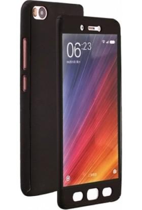 Elite Xiaomi Mi 5S Slim 360 Tam Koruma Rubber Kılıf - Siyah