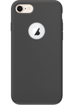 Elite Apple iPhone 8 Ultra Slim Yumuşak Fashion Silikon Kılıf - Siyah
