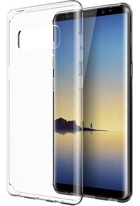 Elite Samsung Galaxy Note 8 Kılıf Ultra Slim Kaliteli Silikon Şeffaf 0.2mm - Şeffaf