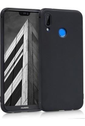 Elite Huawei P20 Lite Ultra Slim Yumuşak Fashion Silikon Kılıf - Siyah