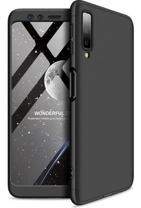 Telefonaksesuarı Samsung Galaxy A7 2018 Voero Ays 360 Derece Tam Koruma Kılıf