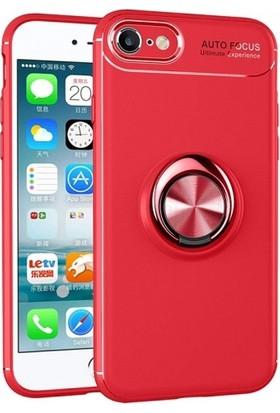 Telefonaksesuarı Apple iPhone 6s / 6 Silikon Kılıf Royben Yüzüklü Manyetik Standlı Kapak
