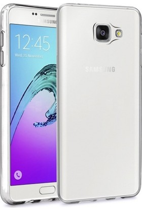 Telefonaksesuarı Samsung Galaxy A5 2016 Kılıf Ultra Slim Kaliteli Silikon Şeffaf 0.2mm