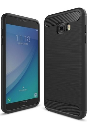 Telefonaksesuarı Samsung Galaxy C5 Pro Kılıf Ultra Koruma Elite Silikon