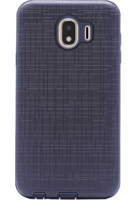 Telefonaksesuarı Samsung Galaxy J4 2018 Ultra Koruma Darbe Emici Marble Silikon Kılıf