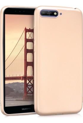 Telefonaksesuarı Huawei Y6 2018 Kılıf Ultra Slim Yumuşak Premier Silikon