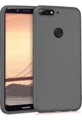 Telefonaksesuarı Huawei Y7 Prime 2018 Ultra Slim Yumuşak Premier Silikon Kılıf
