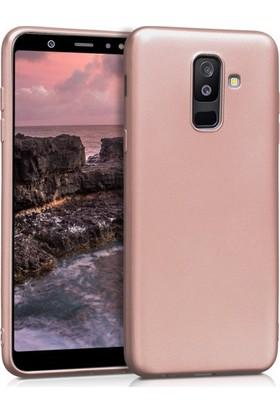 Telefonaksesuarı Samsung Galaxy J8 Kılıf Ultra Slim Yumuşak Premier Silikon