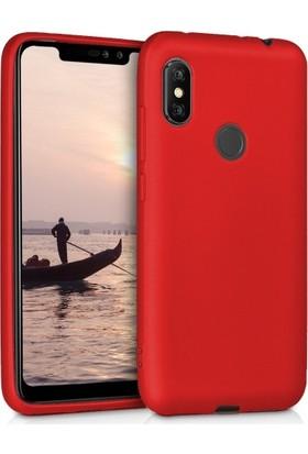 Telefonaksesuarı Xiaomi Redmi Note 6 Pro Kılıf Ultra Slim Yumuşak Premier Silikon