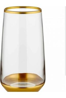 Lav Lal Gold Meşrubat Su Bardağı 6 Adet