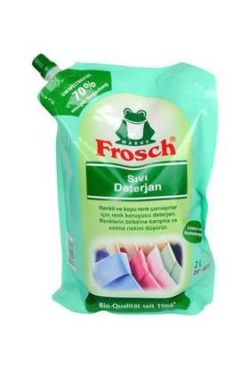 Frosch Renkli Çamaşır Deterjanı 1800 ml Yedek