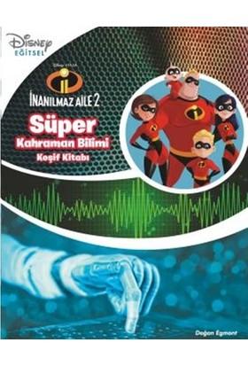 Disney İnanılmaz Aile Süper Kahraman Keşif Kitabı