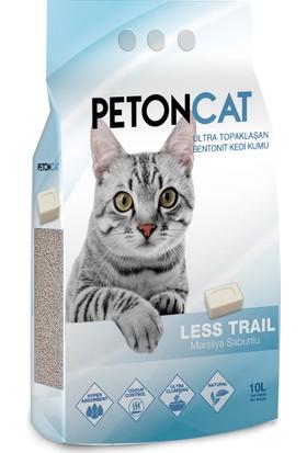 Petoncat Marsilya Sabunlu İnce Taneli Topaklaşan Kedi Kumu 10 litre