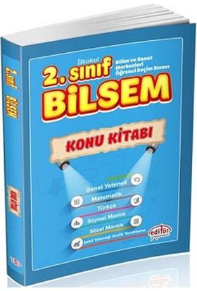 Editör Yayınları 2. Sınıf BİLSEM Konu Kitabı