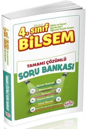 Editör Yayınları 4. Sınıf BİLSEM Tüm Dersler Tamamı Çözümlü Soru Bankası