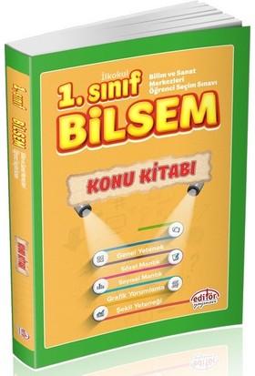 Editör Yayınları 1. Sınıf BİLSEM Hazırlık Konu Kitabı