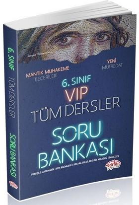 Editör 6. Sınıf VIP Tüm Dersler Soru Bankası