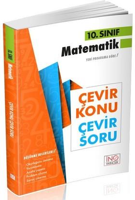İnovasyon Yayınları 10. Sınıf Matematik Çevir Konu Çevir Soru
