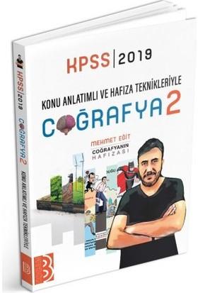 Benim Hocam Yayınları 2019 KPSS Konu Anlatımlı Ve Hafıza Teknikleriyle Coğrafyanın Hafızası-2