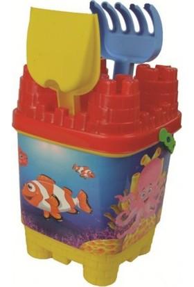 Best Toys Deniz Kızı Büyük Kale Kum Kova Seti