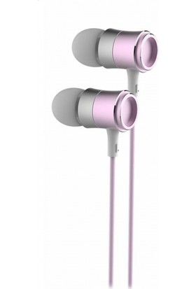 Vidvie HS626 Metal 3.5mm Mikrofonlu Kulaklık - Rose Gold