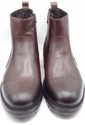 King Shoes Büyük Numara, Fermuarlı, Günlük Bot