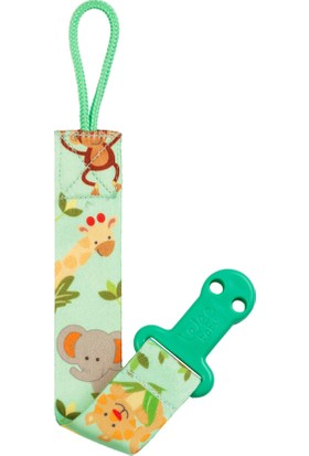 Wee Baby Animal Emzik Bandı Yeşil